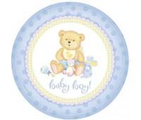 Тарелки Baby Boy (8 шт.)