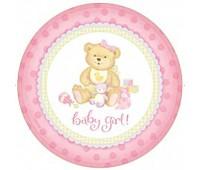 Тарелки Baby Girl (8 шт.)