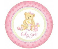 Тарелка Baby Girl (8 шт.)