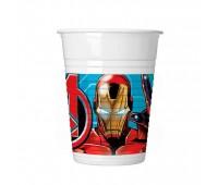 Стаканы «Мстители Mighty Avengers» (8 шт.)