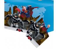 Скатерть «Бэтмен против Супермена»