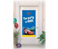 Баннер на дверь «Тачки»