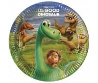 Тарелки «Хороший динозавр» (8 шт.)