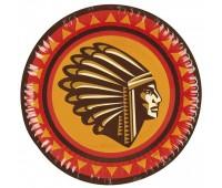 Тарелки «Индейцы» 18 см (6 шт.)