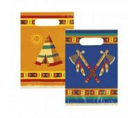 Пакеты подарочные «Индейцы» (6 шт.)