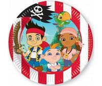 Тарелки «Джейк и пираты Нетландии», 20 см (8 шт.)