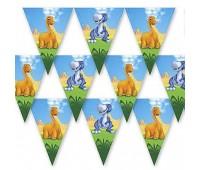 Гирлянда-вымпел «Динозаврики»