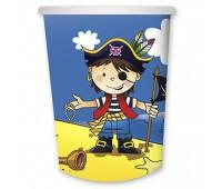Стакан «Маленький пират» (6 шт.)