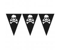 Гирлянда-вымпелы «Пираты»