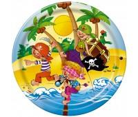 Тарелка «Сокровища пиратов», 23 см (10 шт.)