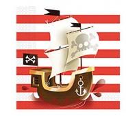 Салфетки Сундук пирата (20 шт.)