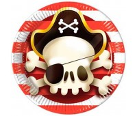 Тарелки Сундук пирата (8 шт.)