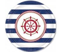 Тарелка «Море» 17 см (8 шт.)