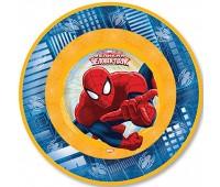 Тарелка «Человек-Паук» 17 см (6 шт.)