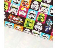 Бумага упаковочная Звездные войны