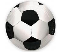 Тарелка «Футбол» 23 см (6 шт.)