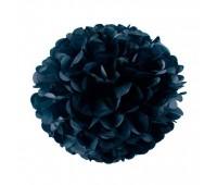 Помпон черный (30 см)