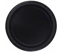 Тарелки черные (8 шт.)