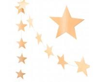 Гирлянда Звезды золотые