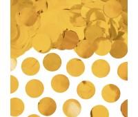 Конфетти Золото круги