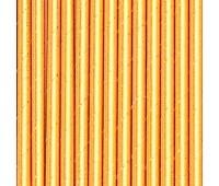 Трубочки Золото глиттер (12 шт.)