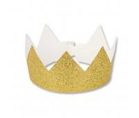 Корона золотая (6 шт.)