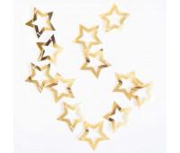 Гирлянда Звезды золотые с вырубкой