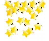 Конфетти Золото звезды
