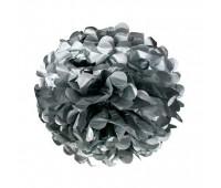 Помпон серебро (30 см)