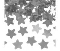 Конфетти Серебро звезды