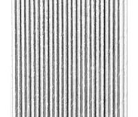 Трубочки Серебро (25 шт.)
