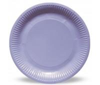 Тарелка сиреневая (6 шт.)