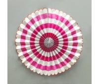 Фант с розовым рисунком (40 см)