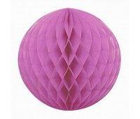 Шар бумажный розовый яркий (20 см)