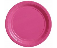 Тарелка ярко-розовая (8 шт.)