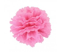 Помпон розовый (40 см)