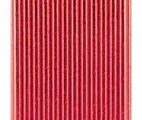 Трубочки красные фольгированные (25 шт.)