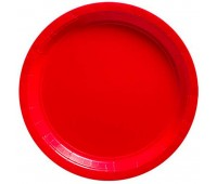 Тарелки красные (8 шт.)