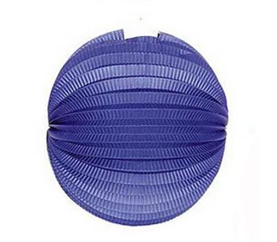 Шар-аккордеон синий (25 см)