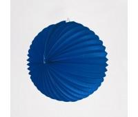 Шар-аккордеон синий (22 см)