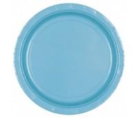 Тарелки голубые (8 шт.)