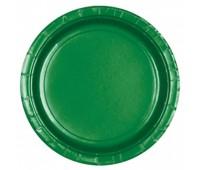 Тарелка зеленая (8 шт.)
