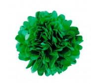 Помпон зеленый (20 см)