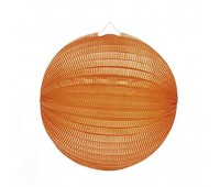 Шар-аккордеон оранжевый (25 см)