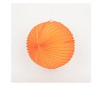 Шар-аккордеон оранжевый (22 см)
