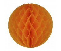 Шар бумажный оранжевый (20 см)