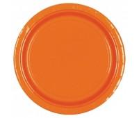Тарелка оранжевая (8 шт.)