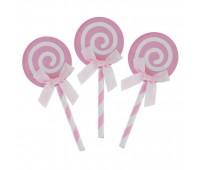 Пики «Карамелька» розовые