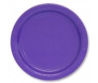 Тарелка фиолетовая (8 шт.)