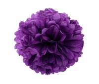 Помпон фиолетовый (30 см)